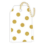 Hampton Art - Tags - Vellum with Glitter Accents - Dot