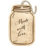 Hampton Art - Tags - Embossed - Love