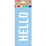 Hampton Art - 8 Inch Stencil - Hello