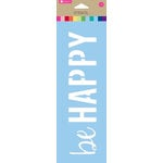 Hampton Art - 10 Inch Stencil - Be Happy