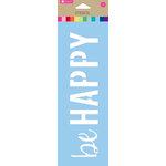Hampton Art - 10 Inch Stencil - Be Happy