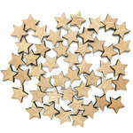 Hampton Art - Barn Party Collection - Wood Confetti - Stars