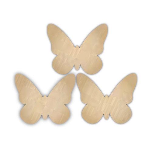 Hampton Art - Barn Party Collection - Wood Confetti - Butterflies