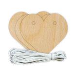 Hampton Art - Banner - Wood - Hearts