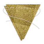 Hampton Art - Banner - Stitched - Gold - Flag