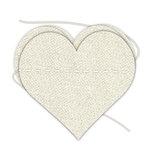 Hampton Art - Banner - Stitched - Canvas - Heart
