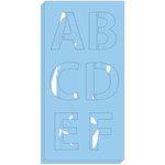 Hampton Art - Stencils - Alphabet - Bold