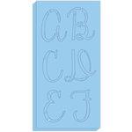 Hampton Art - Stencils - Alphabet - Script
