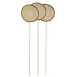 Hampton Art - Barn Party Collection - Wood Slab Picks - 3 Pack