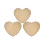 Hampton Art - Barn Party Collection - Wood Confetti - Hearts