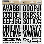 Hampton Art - Foam Sticker Set - Alphabet 1