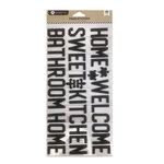Hampton Art - Foam Sticker Set - Home