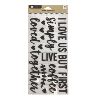 Hampton Art - Foam Sticker Set - I Love Us
