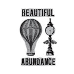 Hampton Art - 7 Gypsies - Cling Mounted Rubber Stamps - Abundance