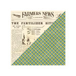 Jillibean Soup - Irish Farm House Soup Collection - 12 x 12 Double Sided Paper - Sliced Turnip