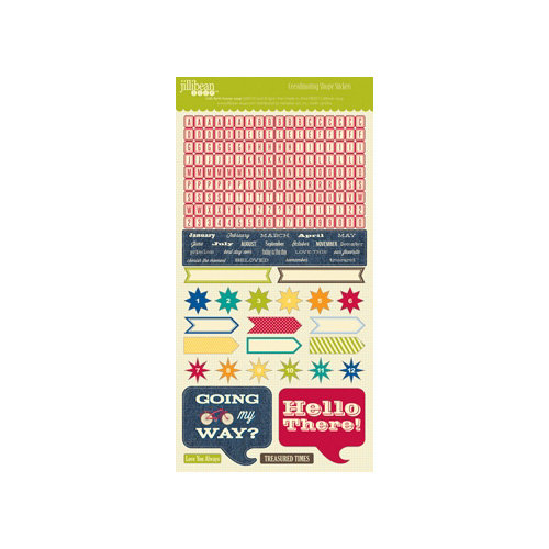 Jillibean Soup - Irish Farm House Soup Collection - Cardstock Stickers - Shapes