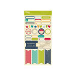 Jillibean Soup - Irish Farm House Soup Collection - Cardstock Stickers - Labels