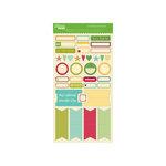 Jillibean Soup - Fresh Vegetable Soup Collection - Cardstock Stickers - Labels