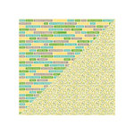 Jillibean Soup - Chilled Cucumber Soup Collection - 12 x 12 Double Sided Paper - Croutons