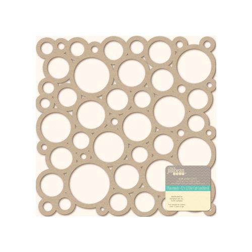 Jillibean Soup - Placemats - 12 x 12 Die Cut Kraft Paper - Circles