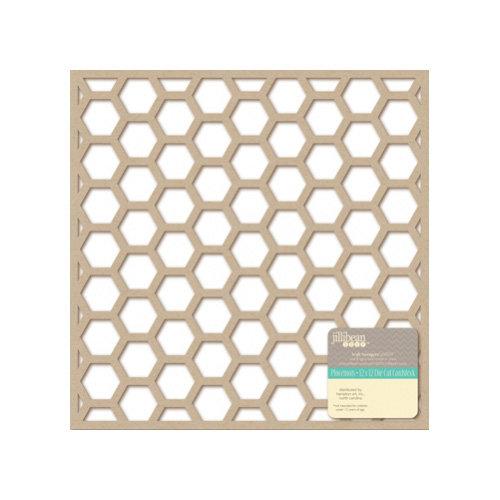 Jillibean Soup - Placemats - 12 x 12 Die Cut Kraft Paper - Hexagons