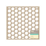 Jillibean Soup - Placemats - 12 x 12 Die Cut Kraft Paper - Hexagons