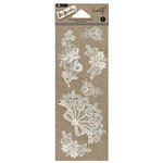 Hampton Art - Jar Jewelry Collection - Lace Stickers - Floral