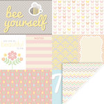 KI Memories - Mini Celebrations Collection - 12 x 12 Double Sided Paper - Spring Fever