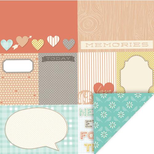 KI Memories - Mini Celebrations Collection - 12 x 12 Double Sided Paper - Remember