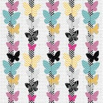 KI Memories - Mini Celebrations Collection - 12 x 12 Ruffle Paper - Flutter Lovely