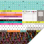 KI Memories - Playlist Collection - 12 x 12 Double Sided Paper - His and Hers