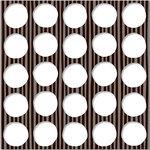 KI Memories - Playlist Collection - 12 x 12 Die Cut Lace Paper - Rock Dots