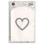 Hampton Art - Favor Bags - Heart