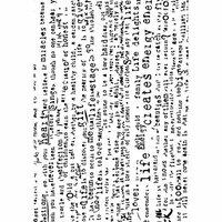Hampton Art - 7 Gypsies - Wood Mounted Stamps - Distressed Words