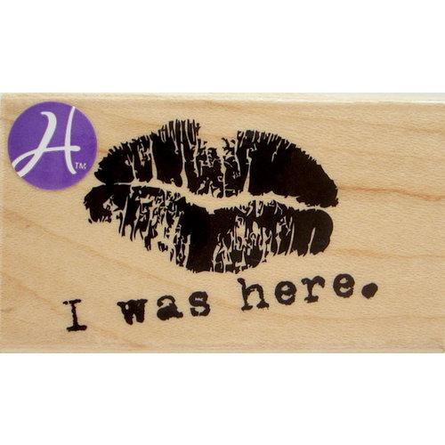Hampton Art - 7 Gypsies - Wood Mounted Stamps - I Was Here