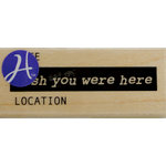 Hampton Art - 7 Gypsies - Wood Mounted Stamps - Wish You Were Here