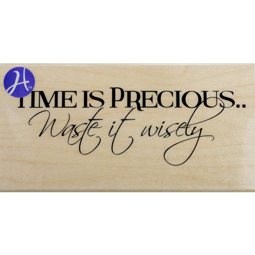 Hampton Art - 7 Gypsies - Wood Mounted Stamps - Time is Precious