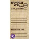 Hampton Art - 7 Gypsies - Wood Mounted Stamps - Happiness Card