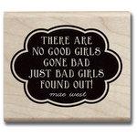 Hampton Art - Hot Fudge Studio - Wood Mounted Stamp - Good Girls Gone Bad