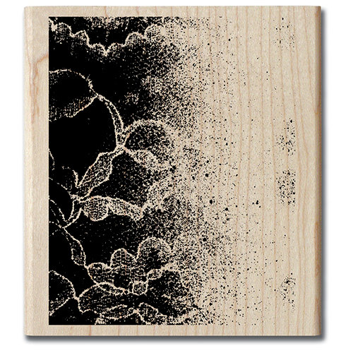 Hampton Art - Art Etc - Wood Mounted Stamp - Lace Pattern