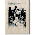 Hampton Art - Art Etc - Wood Mounted Stamp - Lost and Found