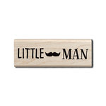 Hampton Art - Wood Mounted Stamps - Little Man