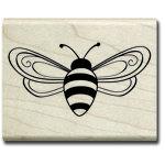 Hampton Art - Wood Mounted Stamps - Bee