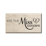 Hampton Art - Wood Mounted Stamps - Miss Goodbye