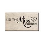 Hampton Art - Wood Mounted Stamps - Miss Goodbye