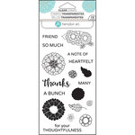 Hampton Art - Clear Acrylic Stamps - Layer Flower Thanks