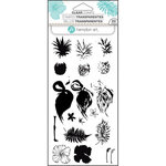 Hampton Art - Clear Acrylic Stamps - Layer Tropical