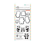 Hampton Art - Die and Clear Acrylic Stamp Set - Panda
