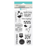 Hampton Art - Clear Acrylic Stamps - New Baby