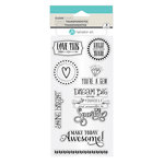 Hampton Art - Clear Acrylic Stamps - Shine Bright